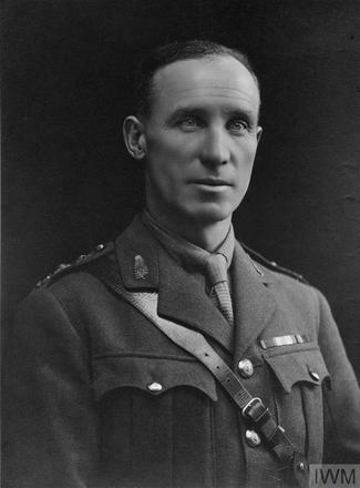 Portrait of Lieutenant Colonel Duncan Barrie Blair. Image sourced from Imperial War Museums' 'Bond of Sacrifice' collection. ©IWM HU 113935