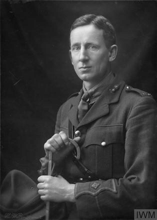 Portrait of Lieutenant Archibald Hugh Bogle. Image sourced from Imperial War Museums' 'Bond of Sacrifice' collection. ©IWM HU 114016