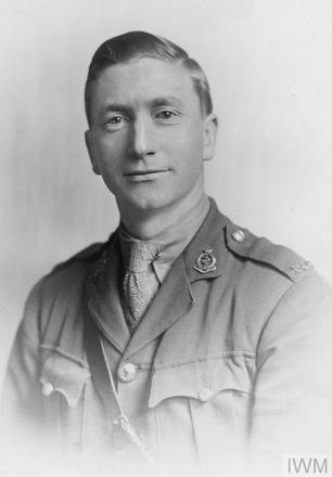 Portrait of Captain George William Gower. Image sourced from Imperial War Museums' 'Bond of Sacrifice' collection. ©IWM HU 115274
