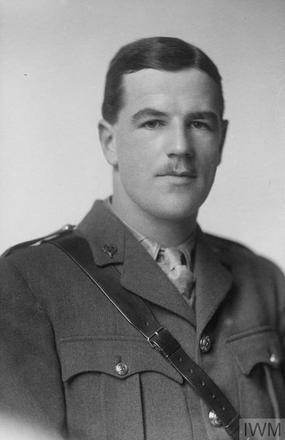 Portrait of Lieutenant Leonard Handforth Jardine. Image sourced from Imperial War Museums' 'Bond of Sacrifice' collection. ©IWM HU 116328