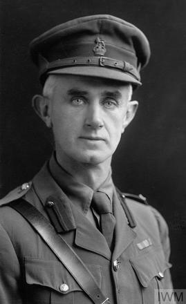 Portrait of Colonel William Henry Parkes. Image sourced from Imperial War Museums' 'Bond of Sacrifice' collection. ©IWM HU 116627