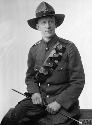 Portrait of Gunner Leslie Bostock Mackersey. Image sourced from Imperial War Museums' 'Bond of Sacrifice' collection. ©IWM HU 117604