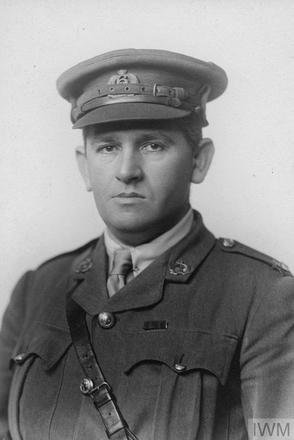 Portrait of Major Percy de Bathe Brandon. Image sourced from Imperial War Museums' 'Bond of Sacrifice' collection. ©IWM HU 120840