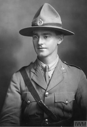 Portrait of Lieutenant Stanley James Davis. Image sourced from Imperial War Museums' 'Bond of Sacrifice' collection. ©IWM HU 121040