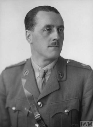 Portrait of Lieutenant Reginald Moatoa Doughty. Image sourced from Imperial War Museums' 'Bond of Sacrifice' collection. ©IWM HU 121394