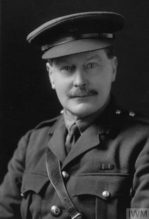 Portrait of Lieutenant Colonel Norman Fitzherbert. Image sourced from Imperial War Museums' 'Bond of Sacrifice' collection. ©IWM HU 122135