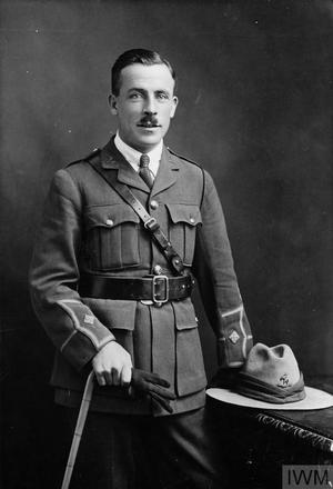 Portrait of Lieutenant John George Concanon Wales. Image sourced from Imperial War Museums' 'Bond of Sacrifice' collection. ©IWM HU 126940