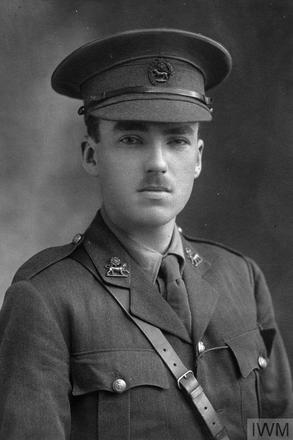 Portrait of Second Lieutenant Ernest Richard Leary. Image sourced from Imperial War Museums' 'Bond of Sacrifice' collection. ©IWM HU 93439_A