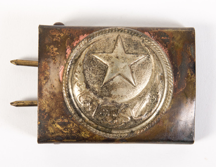 buckle, belt, W2230.3, © Auckland Museum CC BY