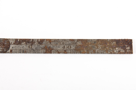 ruler, W2230.18, © Auckland Museum CC BY