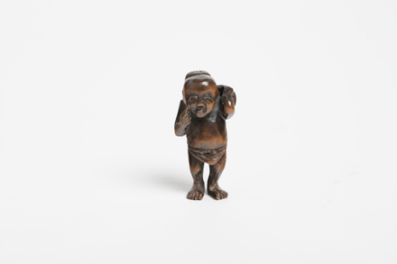netsuke, 1934.316, 20785, 20785.17, M198, Photographed by Richard Ng, digital, 22 Jan 2019, © Auckland Museum CC BY