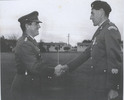 Presentation of the New Zealand Long Service and Good Conduct Medal to Warrant Officer Walter Bilton at Waiouru. Image kindly provided by service person (February 2019). Image may be subject to copyright restrictions.