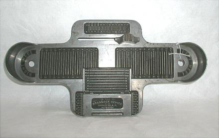 brannock device, front