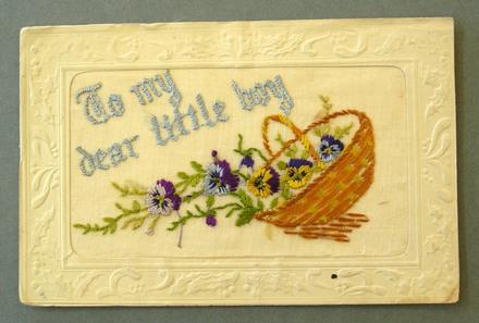embroidered postcard, WW1 [2000x2.7.5]
