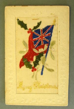 embroidered postcard, WW1  [2000x2.7.6]