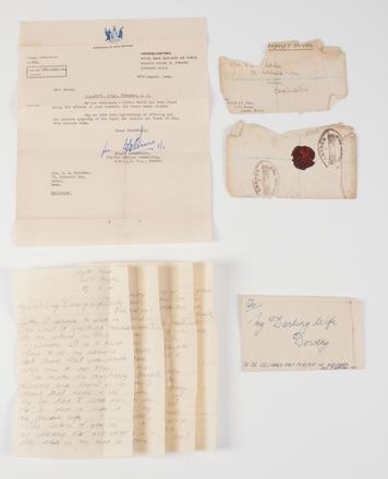 letter, envelope and cover