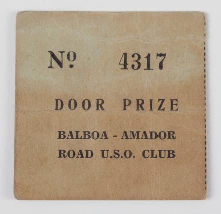 ticket, door prize