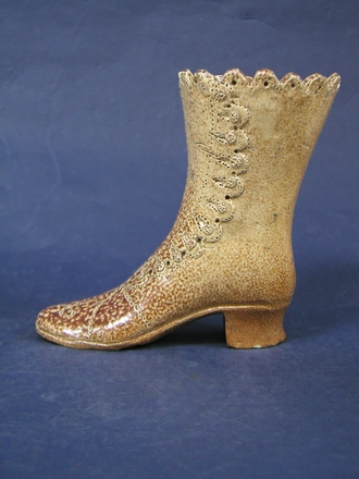 boot ornament, c1800s [1968.110 & col.2257] side view