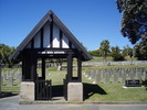 Photograph of Karori Cemetery, Services Wellington. Image kindly provided by Bernice Brooks (July 2019). Image may be subject to copyright restrictions.