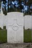 Headstone of Gunner William Nevin Bell (12712). Coxyde Military Cemetery, Koksijde, West-Vlaanderen, Belgium. New Zealand War Graves Trust (BEAX6940). CC BY-NC-ND 4.0.