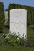 Headstone of Private James Charles McGinley (34114). Gunners Farm Military Cemetery, Hainaut, Belgium. New Zealand War Graves Trust (BEBM8737). CC BY-NC-ND 4.0.