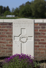 Headstone of Private Victor Harold Adams (16740). Motor Car Corner Cemetery, Comines-Warneton, Hainaut, Belgium. New Zealand War Graves Trust (BECW8749). CC BY-NC-ND 4.0.