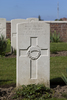 Headstone of Private Walter Peter Aitken (42455). Motor Car Corner Cemetery, Comines-Warneton, Hainaut, Belgium. New Zealand War Graves Trust (BECW8789). CC BY-NC-ND 4.0.