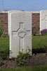 Headstone of Private David James McFarlane (33579). Motor Car Corner Cemetery, Comines-Warneton, Hainaut, Belgium. New Zealand War Graves Trust (BECW8777). CC BY-NC-ND 4.0.