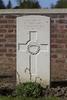 Headstone of Private Thomas Stewart (39909). Motor Car Corner Cemetery, Comines-Warneton, Hainaut, Belgium. New Zealand War Graves Trust (BECW8758). CC BY-NC-ND 4.0.