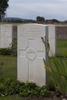 Headstone of Sergeant James Edward Carmichael (2/402). Divisional Cemetery, Ieper, West-Vlaanderen, Belgium. New Zealand War Graves Trust (BEAZ1080). CC BY-NC-ND 4.0.