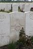 Headstone of Private George Dominic Hill (55494). Haringhe (Bandaghem) Military Cemetery, Poperinge, West-Vlaanderen, Belgium. New Zealand War Graves Trust (BEBP2193). CC BY-NC-ND 4.0.
