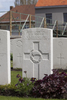 Headstone of Lance Corporal Cecil Frank Booth (21485). Voormezeele Enclosure, West Vlaanderen, Belgium. New Zealand War Graves Trust (BEEL7559). CC BY-NC-ND 4.0.