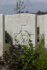 Headstone of Driver John Carson (12743). Nine Elms British Cemetery, Poperinge, West-Vlaanderen, Belgium. New Zealand War Graves Trust (BEDA9522). CC BY-NC-ND 4.0.