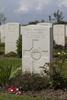 Headstone of Sergeant David Gallaher (32513). Nine Elms British Cemetery, Poperinge, West-Vlaanderen, Belgium. New Zealand War Graves Trust (BEDA9559). CC BY-NC-ND 4.0.
