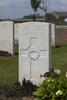 Headstone of Rifleman Dugald McPherson Wighton (26/1760). Nine Elms British Cemetery, Poperinge, West-Vlaanderen, Belgium. New Zealand War Graves Trust (BEDA9498). CC BY-NC-ND 4.0.