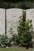 Headstone of Lance Corporal Edgar James Burn (27061). Lijssenthoek Military Cemetery, Poperinge, West-Vlaanderen, Belgium. New Zealand War Graves Trust (BECL9700). CC BY-NC-ND 4.0.