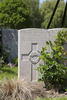 Headstone of Private Joseph Curtis (19459). Lijssenthoek Military Cemetery, Poperinge, West-Vlaanderen, Belgium. New Zealand War Graves Trust (BECL0121). CC BY-NC-ND 4.0.