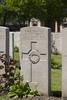 Headstone of Private Peter Joseph Mathews (16484). Lijssenthoek Military Cemetery, Poperinge, West-Vlaanderen, Belgium. New Zealand War Graves Trust (BECL9750). CC BY-NC-ND 4.0.