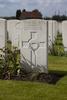 Headstone of Rifleman Ole Andersen (54316). Dochy Farm New British Cemetery, Langemark-Poelkapelle, West-Vlaanderen, Belgium. New Zealand War Graves Trust (BEBB9013). CC BY-NC-ND 4.0.
