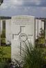 Headstone of Private Arthur Sydney Blake (10/1746). Dochy Farm New British Cemetery, Langemark-Poelkapelle, West-Vlaanderen, Belgium. New Zealand War Graves Trust (BEBB9028). CC BY-NC-ND 4.0.
