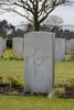 Headstone of Sergeant Dudley Dobson Coates (421318). Oostende New Communal Cemetery, Oostende, West-Vlaanderen, Belgium. New Zealand War Graves Trust (BEDC7574). CC BY-NC-ND 4.0.