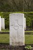 Headstone of Rifleman George Albert Alexander (31796). Strand Military Cemetery, Comines-Warneton, Hainaut, Belgium. New Zealand War Graves Trust (BEEB7224). CC BY-NC-ND 4.0.