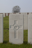 Headstone of Private John Amos Godsell (27496). Kemmel No.1 French Cemetery, West-Vlaanderen, Belgium. New Zealand War Graves Trust (BEBY6116). CC BY-NC-ND 4.0.