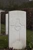 Headstone of Rifleman William Henry Busby (40504). Oxford Road Cemetery, Ieper, West-Vlaanderen, Belgium. New Zealand War Graves Trust (BEDE6145). CC BY-NC-ND 4.0.