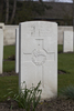 Headstone of Lance Corporal Charles Gomer Jenkins (40149). Oxford Road Cemetery, Ieper, West-Vlaanderen, Belgium. New Zealand War Graves Trust (BEDE6165). CC BY-NC-ND 4.0.