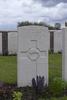 Headstone of Second Lieutenant George Alexander Robbie (24/1306). Mud Corner Cemetery, Comines-Warneton, Hainaut, Belgium. New Zealand War Graves Trust (BECX7772). CC BY-NC-ND 4.0.