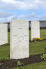 Headstone of Lance Sergeant Stanley Baldwin (10/2847). Prowse Point Military Cemetery, Commines-Warneton, Hainaut, Belgium. New Zealand War Graves Trust (BEDN7617). CC BY-NC-ND 4.0.