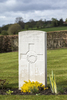 Headstone of Rifleman John Angus McLeod (41347). Prowse Point Military Cemetery, Commines-Warneton, Hainaut, Belgium. New Zealand War Graves Trust (BEDN7645). CC BY-NC-ND 4.0.