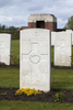 Headstone of Private Archibald Noble (38435). Prowse Point Military Cemetery, Commines-Warneton, Hainaut, Belgium. New Zealand War Graves Trust (BEDN7662). CC BY-NC-ND 4.0.