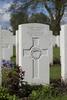 Headstone of Private Charles Dawes (9/2063). Wulverghem-Lindenhoek Road Military Cemetery, Heuvelland, West-Vlaanderen, Belgium. New Zealand War Graves Trust (BEEW8542). CC BY-NC-ND 4.0.